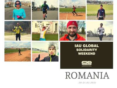 Romania team results from 2021 IAU 6H Virtual Global Solidarity Weekend